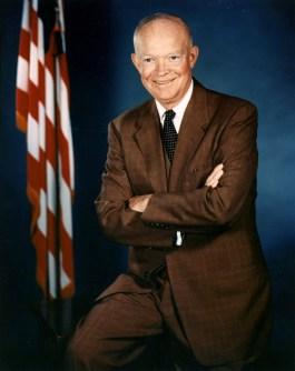 34th U.S. President DWIGHT DAVID EISENHOWER