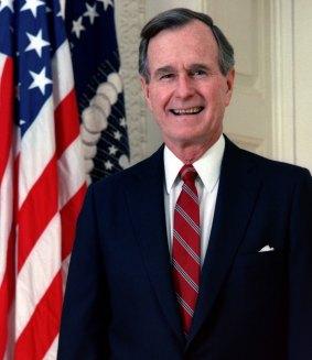 41st U.S. President GEORGE H.W. BUSH