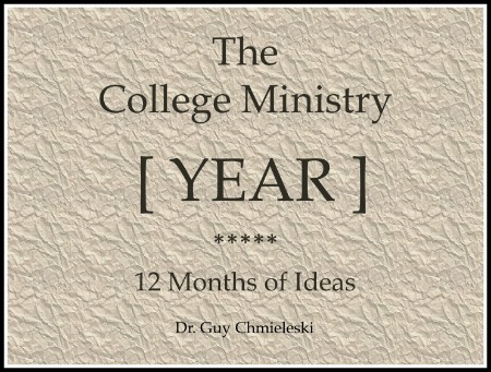 The College Ministry Year Cover