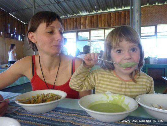 Atacando a la sopa de aguacate