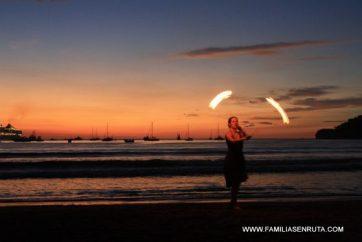 La puesta de sol de San Juan del Sur es mágica
