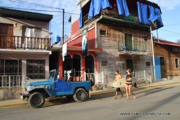 Vistas de las calles de San Juan del Sur