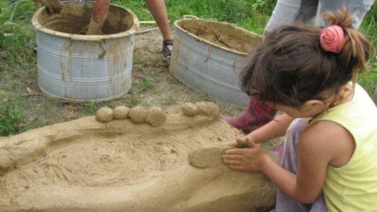 construyendo un hornillo