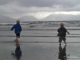 "Auf Dingle am Beach ""The Inch"""