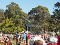 Open Air im Golden Gate Park, San Francisco