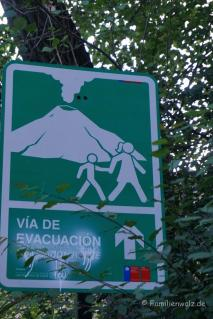 Vulkan nahe San Alfonso im Cajon de Maipo