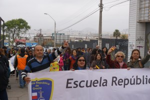 Dem Herzen folgen, Coquimbo streifen und in Pisco Elqui für immer bleiben wollen - Demo für ein bessere Schulsystem in Coquimbo