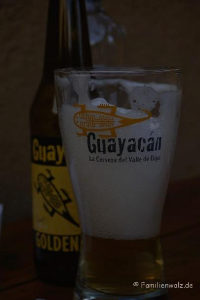 Maisbier in Pisco Elqui