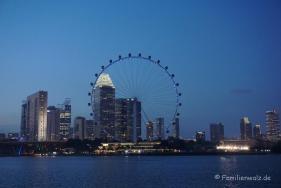 Singapur Flyer gesehen vom Garden of the Bay