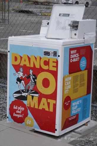 Freie Tanzfläche für alle! Der Dance-O-Mat In Christchurch