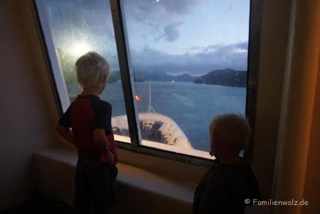 Überfahrt von Picton zur Nordinsel