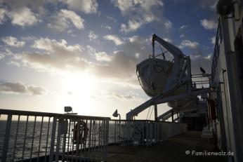 Überfahrt zur Nordinsel