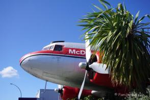 Flugzeug-McDonalds in Taupo