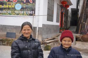 Zwischen Kälteschock und Schildkröten-Massaker - unsere ersten Tage in China - in Zha Ping Tan Village