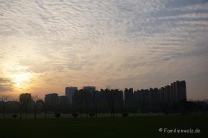 """Shanghai - Willkommen in der Zukunft - """"unser"""" Hochhauskomplex"""