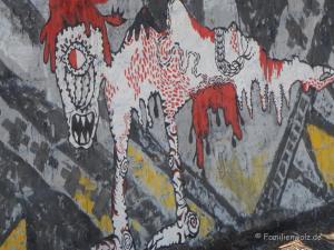 Santiagos schönste Ecken, Chiles schwere Geschichte und warum sie etwas mit uns zu tun hat - Graffito in Valpariso