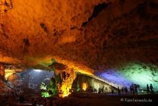 In der Hang Sung Sot Tropfsteinhöhle