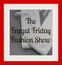 Frugal fashion, thrifty fashion