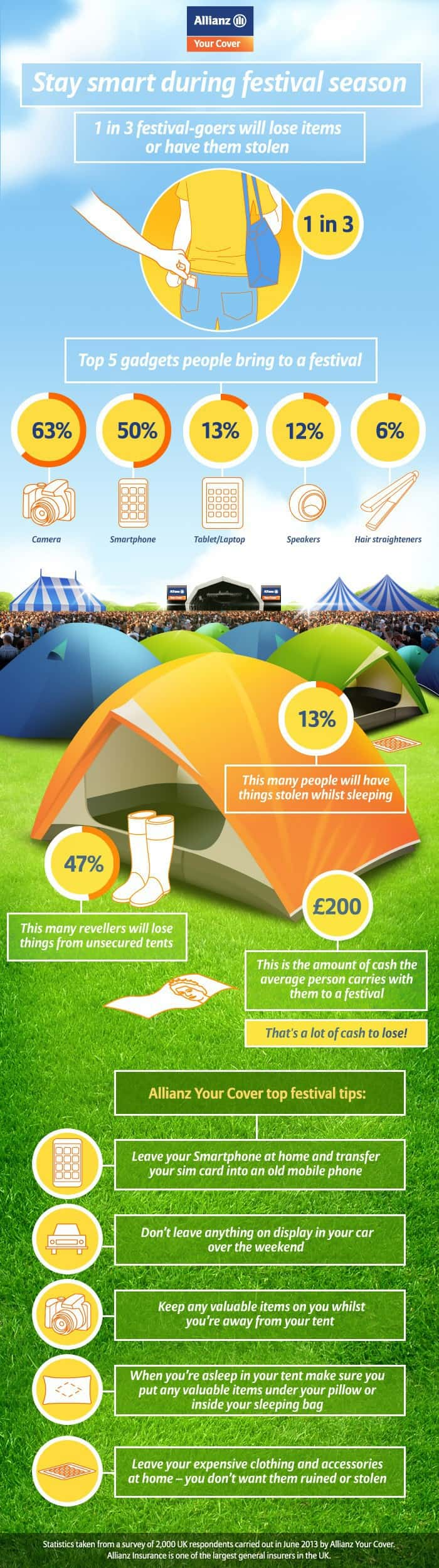 Festival infographic