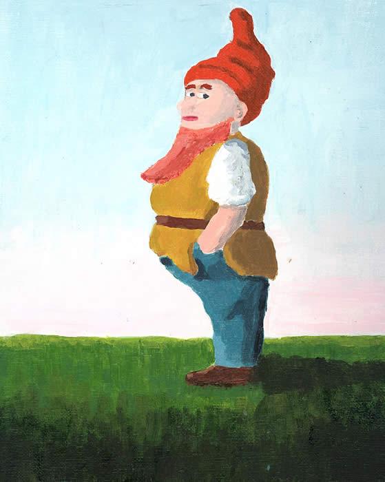 Elf, Robert Pierce, Jr., Acrylic on Canvas, 2011
