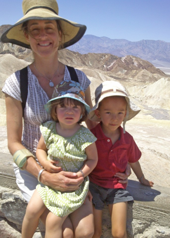 Mira, Caedryn, Rory, Zabriske Point, Summer 2012