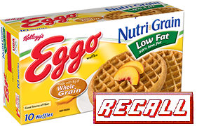 RECALL: Kellogg Eggo Wheat Waffles