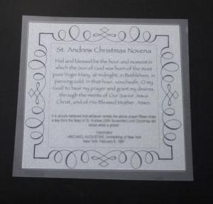 chaplet card