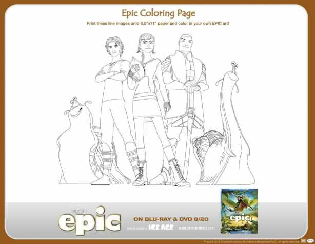 printable epic activity sheets