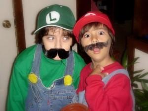 mario brothers halloween costumes