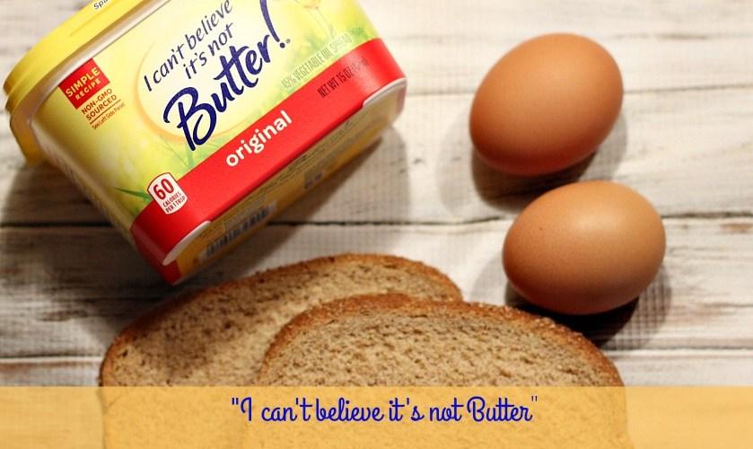 I can't believe it's not Butter Breakfast Scramble #MakeMoreOfMealtime
