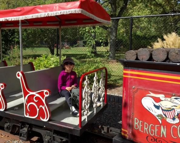 Miniature Train Ride, Van Saun Park