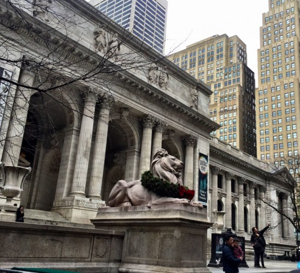 NYC public library, Bryant Park