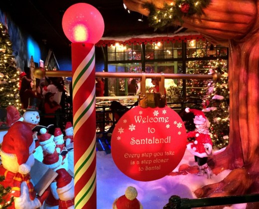 Macy's Santaland NYC 2015