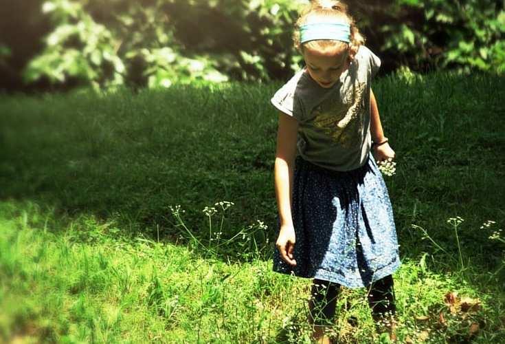 Going on a Wonder Walk to Spark Imagination