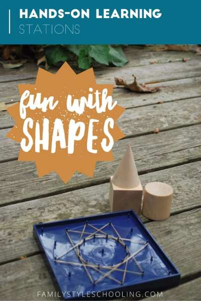 Fun With Shapes: Hands-On Learning Stations