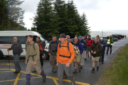 Setting off, 5pm Friday