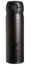 スタバのハンディーステンレスボトルブラック500ml