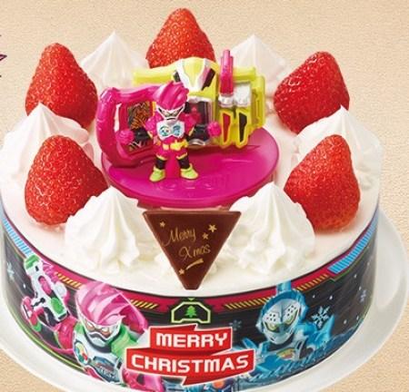 セブンイレブンのクリスマスケーキ2016「ヤマザキ キャラデコクリスマス 仮面ライダーエグゼイド 5号」