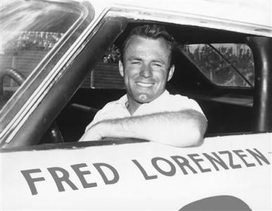 Fred Lorenzen, winner of the 1961 and 1964 Rebel 300s. Photo - Getty Images Archive