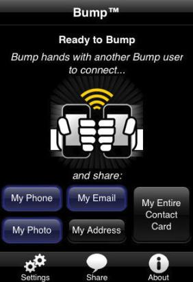 bump iPhone App Review