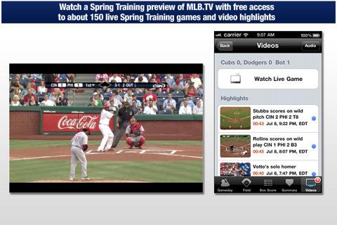 MLB com At Bat 11 iphone app review