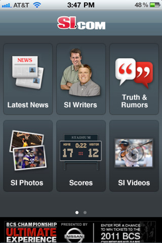 Si iphone app review