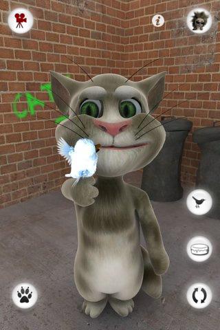 talking tom cat iphone app review
