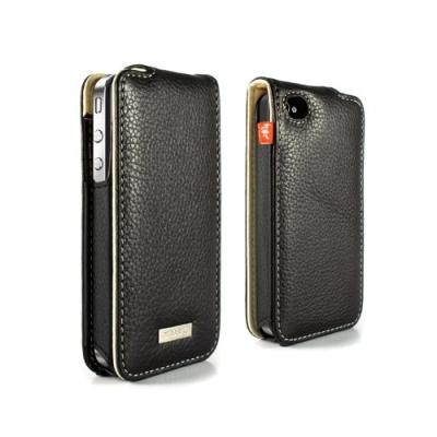 iPhone 4 Aluminium Lined Leather Case