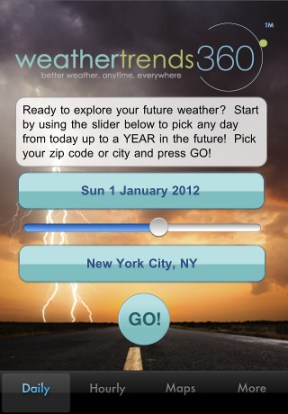 Weather Trends 360 iPhone App Review