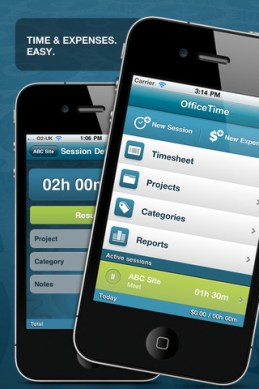 Office Time iPhone App Review