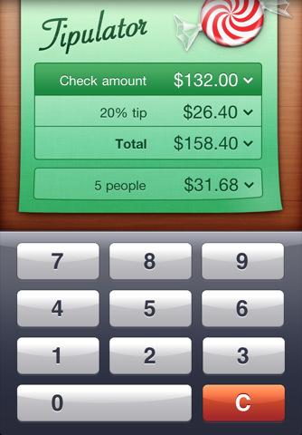 Tipulator iPhone App Review