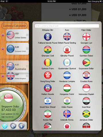 Awesome Currency Calculator iPad App Review
