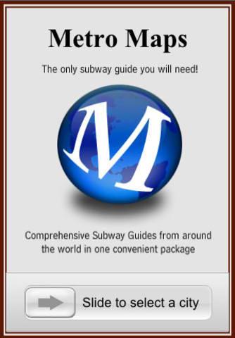Metro Maps iPhone App review