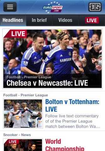 Eurosport iPhone App Review